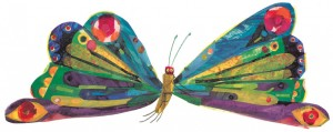 Very Hungry Caterpillar - Butterfly